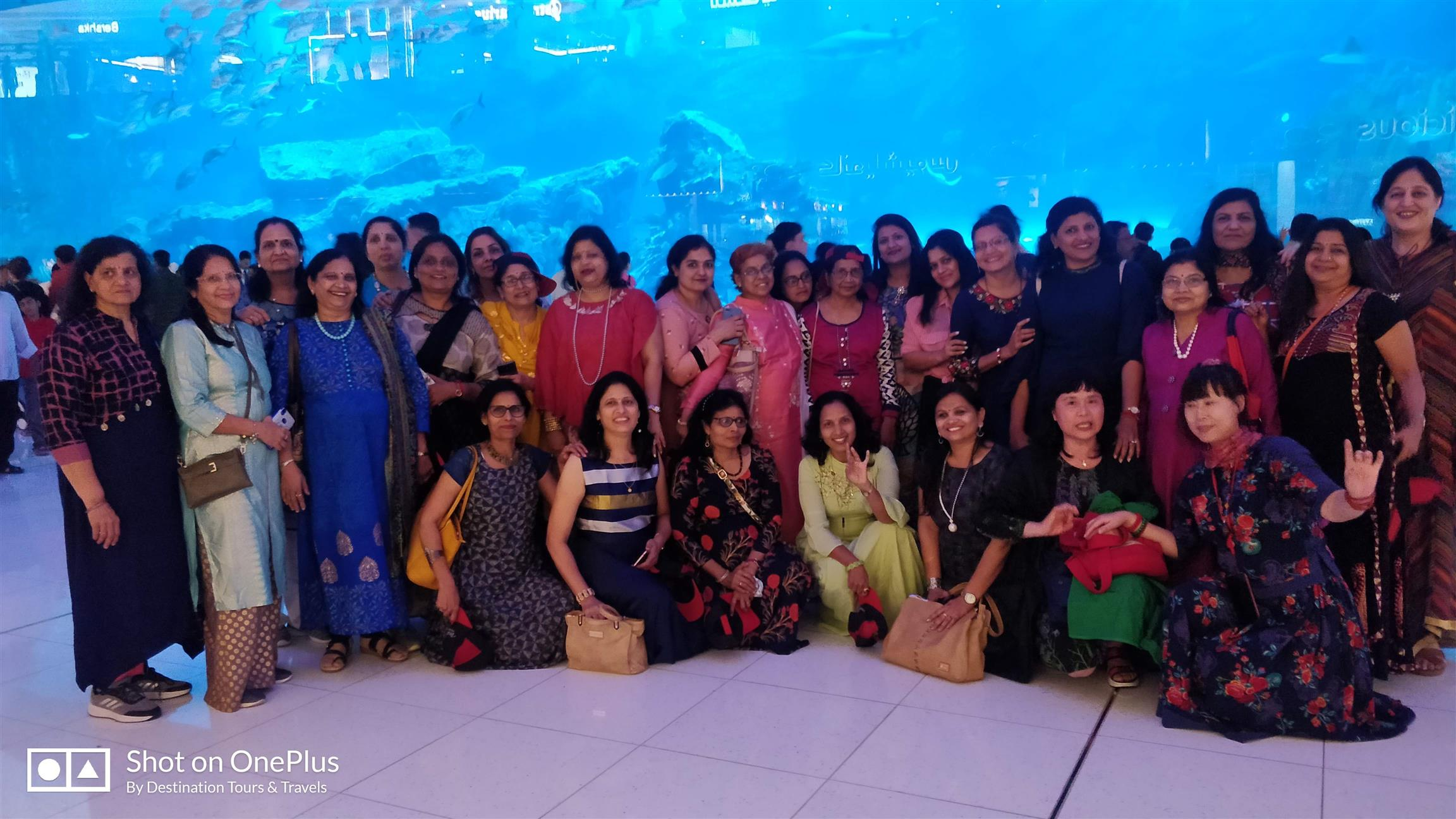 Destination Tours and Travels Gallery DUBAI MUMBAI LADIES GROUP